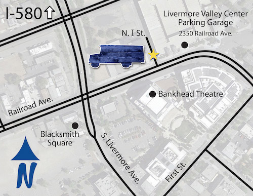 Pick-up/Drop-off Location Map