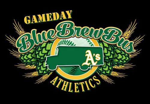 Oakland A's GameDay Brew Bus